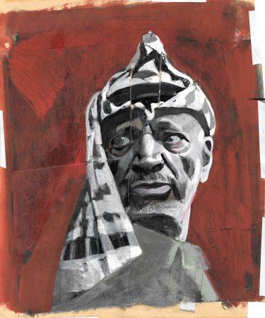 Yasser Arafat at Grande Albergo Alfeo (H.)