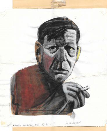 W.H. Auden at  Albergo Alfeo (H.)